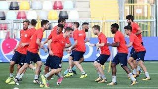 Η προπόνηση πριν την Ριέκα! / Training ahead of match against Rijeka!