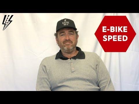 E-Bike Speed [EBC Insights]