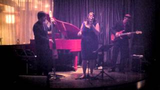 Kimberley Beyea Trio Live at Options Jazz Lounge in Ottawa