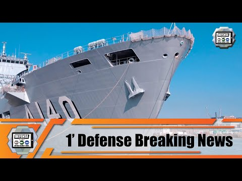 Brazilian Navy NAM Atlântico A140 is now multipurpose aircraft carrier 1' Defense Breaking News