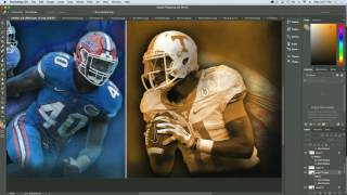 2016 Florida vs. Tennessee Cover - Speed Art (Photoshop)