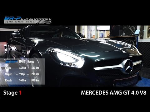 Mercedes GT AMG 4.0 V8  Stage 1 By BR-Performance