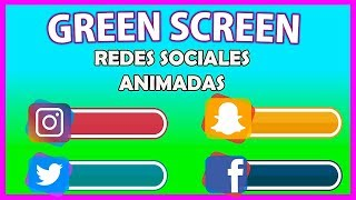 Green Screens | Free Animated Social Media | Subscribe Button