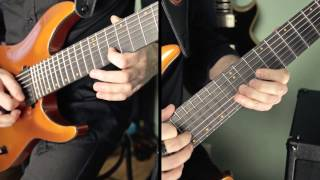Schecter Keith Merrow KM7 / Mesa Boogie Mark V:25 - Metal test