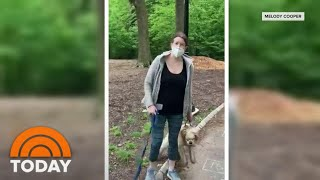 Central Park Confrontation Between White Woman And Black Man Goes Viral | TODAY