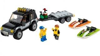 LEGO CITY (внедорожник с катерами)номер 60058