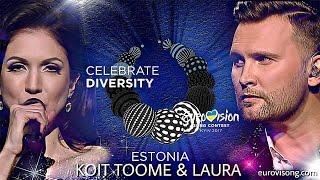Koit Toome & Laura - Verona (New Version) Eurovision Estonia 2017