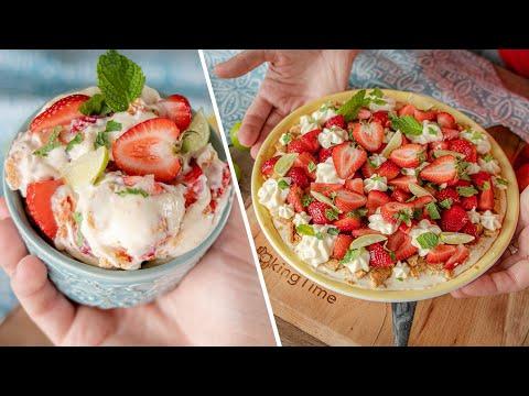 Я в него влюбился! КЛУБНИЧНЫЙ ПУДИНГ или ленивый чизкейк фрезье | простой рецепт Strawberry Pudding