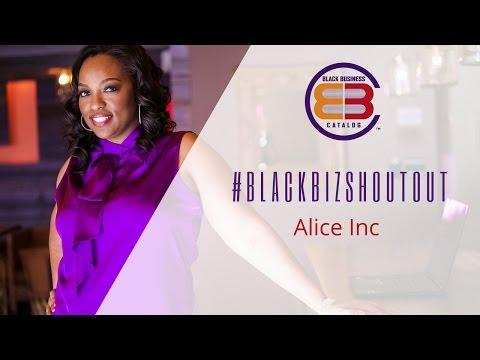 Black Business Holiday Catalog #BlackBizShoutout - Alice Inc