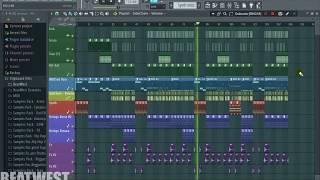 [Fl Studio] Young Thug - Gang Up (Feat, Wiz Khalifa, 2 Chainz & PnB Rock) [BeatWest Remake]