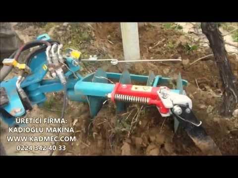Duyargalı Otomatik Bağ Bahçe Ara Çapası - Diskaro - Kadıoğlu Eco Model