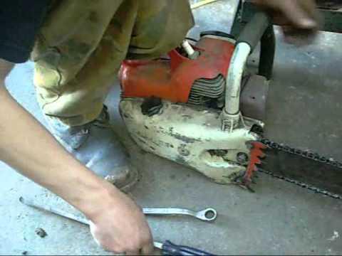 Stihl 08 Chainsaw Clean and Repair pt 1 - plus 08S run