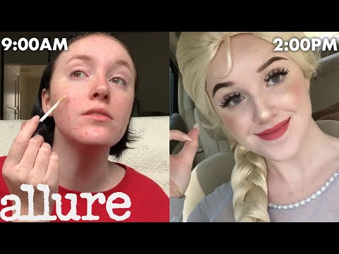 A Professional Party Princess's Entire Routine, from Make Up to Happy Birthday Songs | Allure