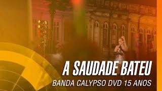 Banda Calypso - A saudade bateu (DVD 15 Anos Ao Vivo em Belém - Oficial)