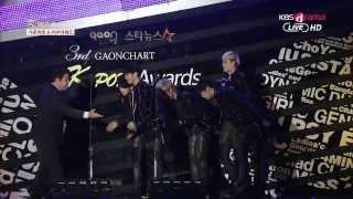 12.02.2014 B.A.P -- Award + One Shot @ KBS Joy Gaon Chart K-Pop Awards width=