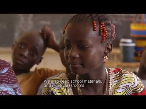 Meet Latifa - Plan International sponsored child in Niger
