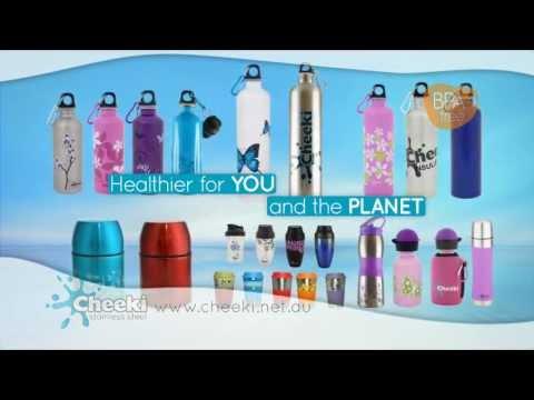 Cheeki Stainless Steel Bottles