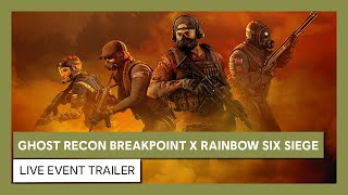 Ghost Recon Breakpoint to host free weekend, Rainbow Six Siege event