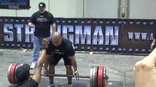 Professional Strongman Elliott Hulse wins 2009 Europa