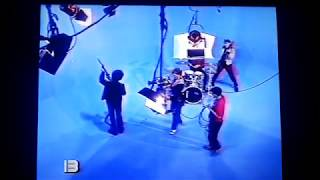 Soda Stereo - Backstage Filmación Clip De Música Ligera