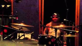 """Terror """"Live By The Code"""" in studio drum session"""