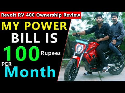Revolt RV 400 Electric Motorcycle Owner Review