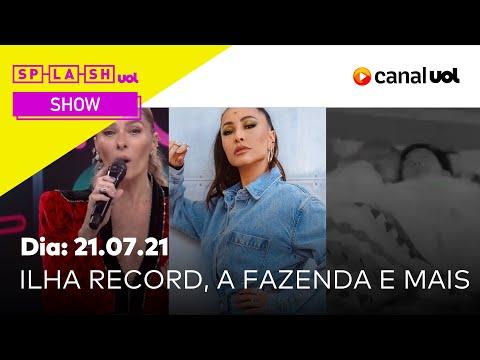 Splash Show com Chico Barney, Aline Ramos e Leandro Carneiro (21/07/2021)