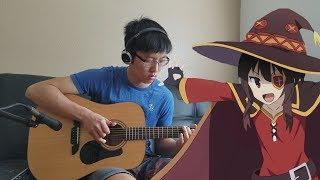 Konosuba Season 2 OP [Tomorrow] Fingerstyle Acoustic Guitar Cover