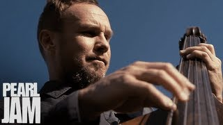 Jeff Ament Playing Upright Bass - Lightning Bolt Vignette - Pearl Jam