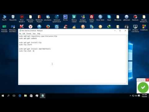 Doua planuri de energie pentru ca autonomia laptopului să fie mai bună în GNU/Linux