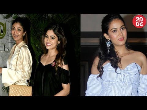 Shilpa Shetty's Dinner Date With Sister Shamita | Mira Rajput Wants To Grace A Cover Sans Shahid