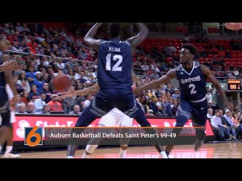 Auburn Basketball vs Saint Peter's