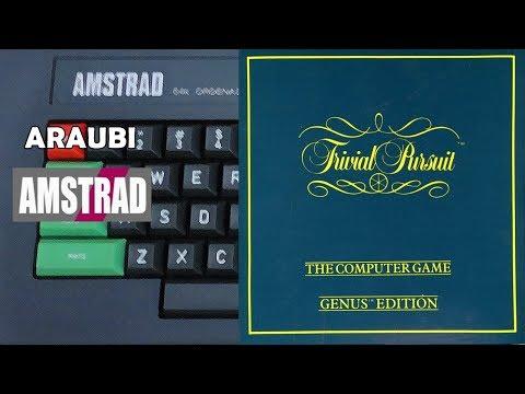 Trivial Pursuit (Domark, 1986) Amstrad [013] 4P Cabu, Vicente, Jordi Alba Walkthrough Comentado