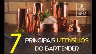 7 PRINCIPAIS UTENSÍLIOS do Bartender