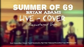 Summer of 69   Bryan Adams   Live Cover   Remastered Bass