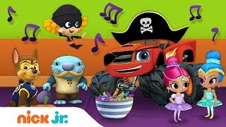 Costume Crazy Halloween Song 🎶 Ft. PAW Patrol, Shimmer & Shine, Dora and Friends & More! | Nick Jr.