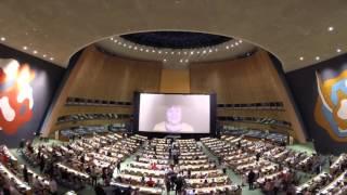 HUMAN aux Nations Unies : La soirée en accéléré