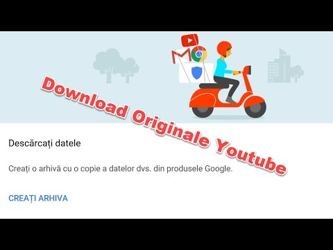 Download canal întreg YouTube, fișierele originale