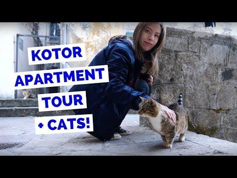 Kotor Apartment Tour in Montenegro
