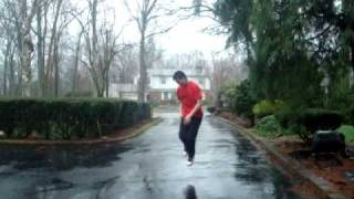"""""""Daddy's Home"""" by Usher Feat. Plies Dance Freestyle in the Rain!"""