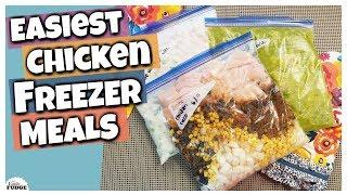 3 Easy&Delicious Chicken Freezer Meals