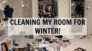 Cleaning my room: Winter/Fall Edition!!!