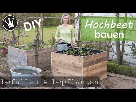 DIY – HOCHBEET BAUEN | Hochbeet befüllen | Hochbeet bepflanzen | STABIL & LANGLEBIG |DekoideenReich