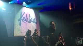 "Kehlani performs ""1st Position"" at Webster Hall 1/18/15"