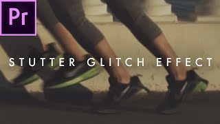 How to Create a Time Skip Glitch Effect | Premiere CC 2017 Tutorial