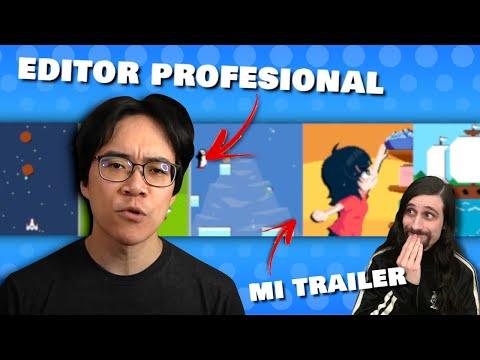 Editor profesional de trailers de videojuegos critica el trailer de mi juego