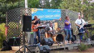"Moonshine - cover Gloriana's ""Trouble"" at Pinecroft Dairy 7/25/15"