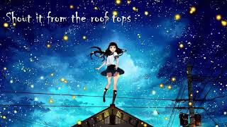 James Arthur- Impossible [Nightcore version]