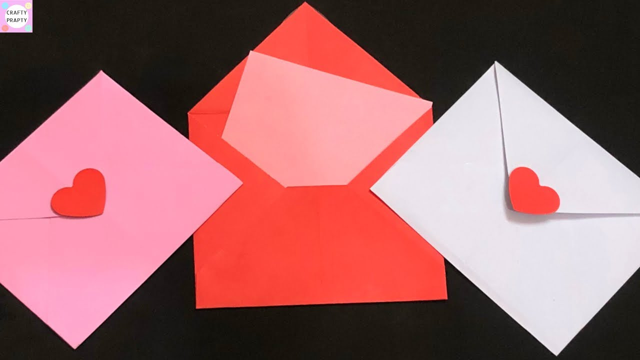 DIY – Envelope Love Letter for Valentine's Day