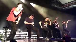 "Nkotb  ""Story of my life"" Stockholm, Sweden May 6, 2014"